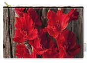 Red Gladiolus Carry-all Pouch