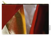 Red Gold And White Carry-all Pouch