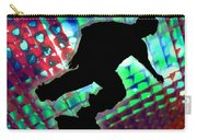 Red Green And Blue Abstract Boxes Skateboarder Carry-all Pouch