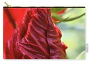 Red Hibiscus Torch Carry-all Pouch