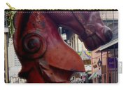 Red Horse Head Post Carry-all Pouch