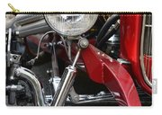 Red Hot Rod- Light And Chrome Carry-all Pouch