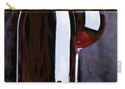 Red In The Shadows Carry-all Pouch by Elaine Plesser
