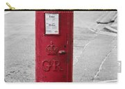 Red King George V Postbox Carry-all Pouch