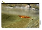 Red Leaf Floating Carry-all Pouch