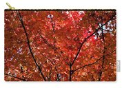 Red Leaves Black Branches Carry-all Pouch