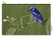 Red-legged Honeycreeper - Cyanerpes Cyaneus Carry-all Pouch