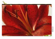Red Lily Number Two Carry-all Pouch