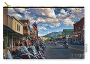 Red  Lodge Motorcycle Rally Carry-all Pouch