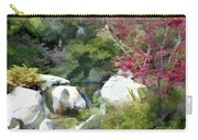 Red Maple Above The Falls Carry-all Pouch