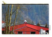 Red Matsqui Barn Carry-all Pouch