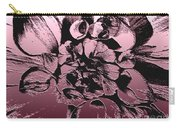 Red Metallic Dahlia Named Who Dun It Carry-all Pouch