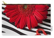 Red Mum And Red Key Carry-all Pouch