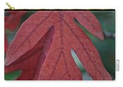 Red Oak Leaf Carry-all Pouch