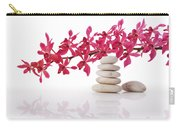 Red Orchid With Balance Stone Carry-all Pouch