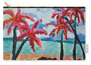 Red Palms Carry-all Pouch