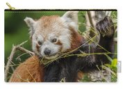 Red Panda Grasping Carry-all Pouch