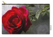 Red Paris Rose Carry-all Pouch