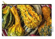 Red Pear And Gourds Carry-all Pouch