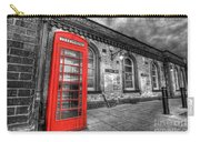 Red Phone Box Carry-all Pouch