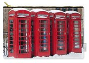Red Phone Boxes Carry-all Pouch