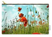 Red Poppy Flowers 03 Carry-all Pouch