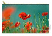Red Poppy Flowers 06 Carry-all Pouch