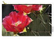 Red Prickly Pear Cactus  Carry-all Pouch