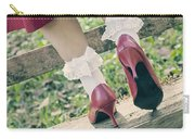 Red Pumps Carry-all Pouch by Joana Kruse