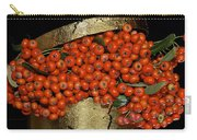 Red Pyracantha Berries Carry-all Pouch