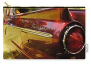 Red Ranchero And Round Taillight Carry-all Pouch