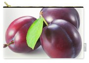 Red Ripe Plum Fruit Closeup Carry-all Pouch