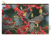 Red Robin Carry-all Pouch