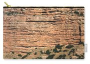 Red Rock Cliffs Along The Hood River Carry-all Pouch