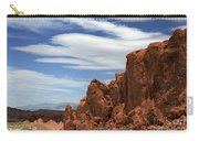 Red Rock Cliffs Valley Of Fire Nevada Carry-all Pouch