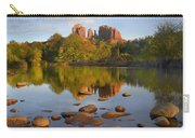 Red Rock Crossing Arizona Carry-all Pouch by Tim Fitzharris