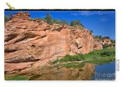 Red Rock Formation In The Kaibab Plateau In Grand Canyon National Park Carry-all Pouch