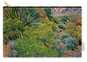Red Rock Park Spring Flowers Carry-all Pouch
