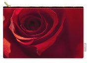 Red Rose Close Up Carry-all Pouch