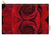 Red Rose Dew Carry-all Pouch