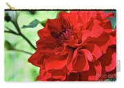 Red Ruby Dahlia Carry-all Pouch