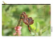 Red Saddlebag Dragonfly In The Marsh Carry-all Pouch
