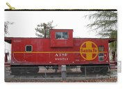 Red Sante Fe Caboose Train . 7d10328 Carry-all Pouch