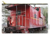 Red Sante Fe Caboose Train . 7d10330 Carry-all Pouch