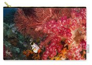 Red Sea Fan And Soft Coral In Raja Carry-all Pouch