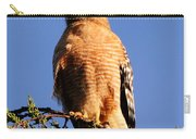 Pismo Beach Red Shoulder Hawk Carry-all Pouch