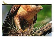 Red-shouldered Hawk With Breakfast Carry-all Pouch