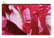 Red Speckled Rose Carry-all Pouch