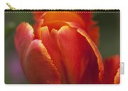 Red Spring Blooming Tulip Carry-all Pouch