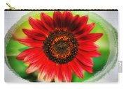 Red Sun Flower Carry-all Pouch